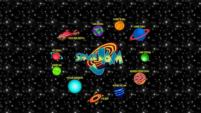 Space Jam Forever The Website That Wouldnt Die