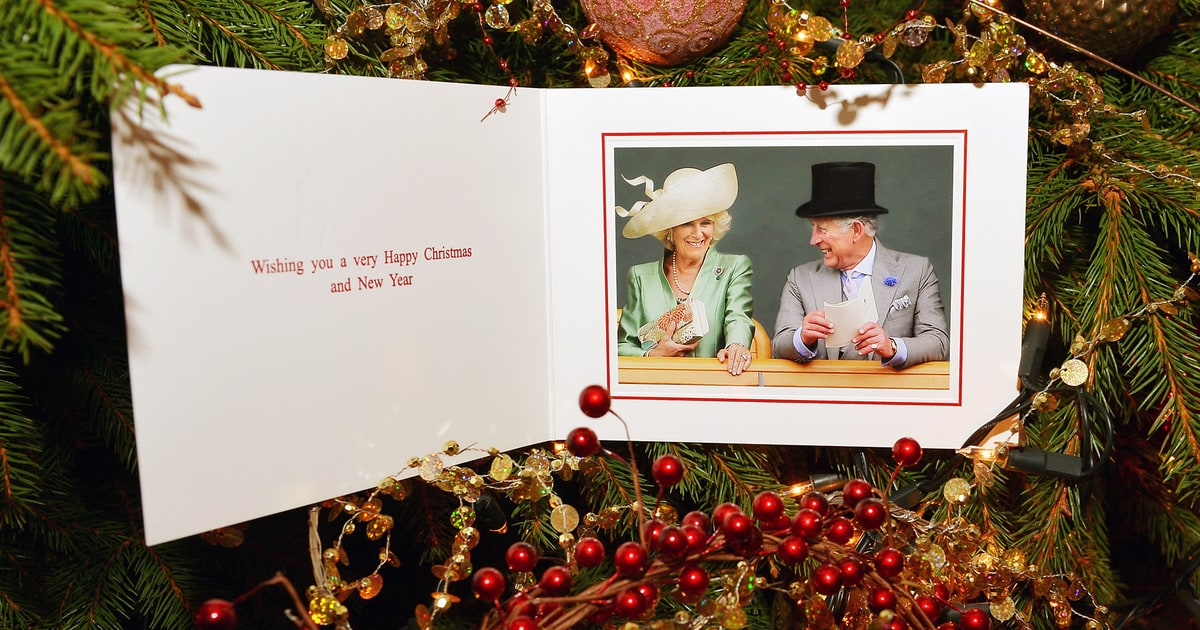 Prince Charles Duchess Camilla Share Christmas Card