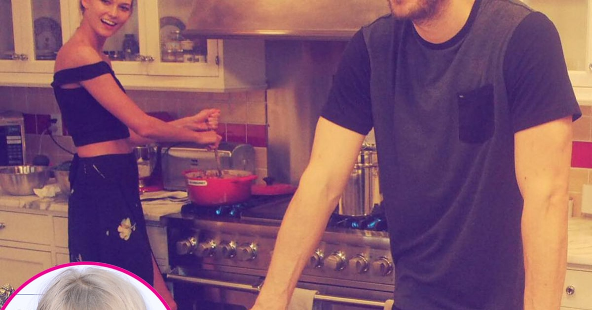 Taylor Swift Wishes Karlie Kloss Happy Birthday With Calvin Harris Pic Us Weekly