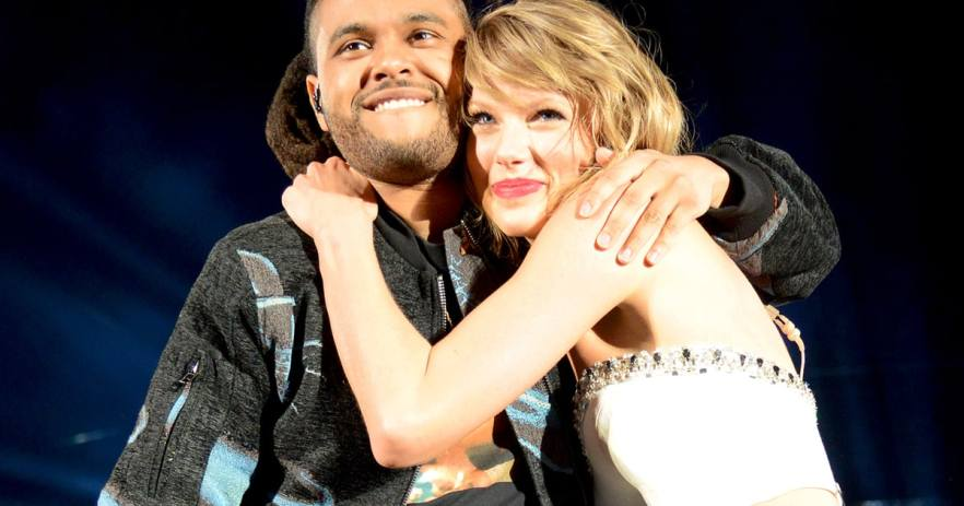 Image result for taylor swift and weeknd
