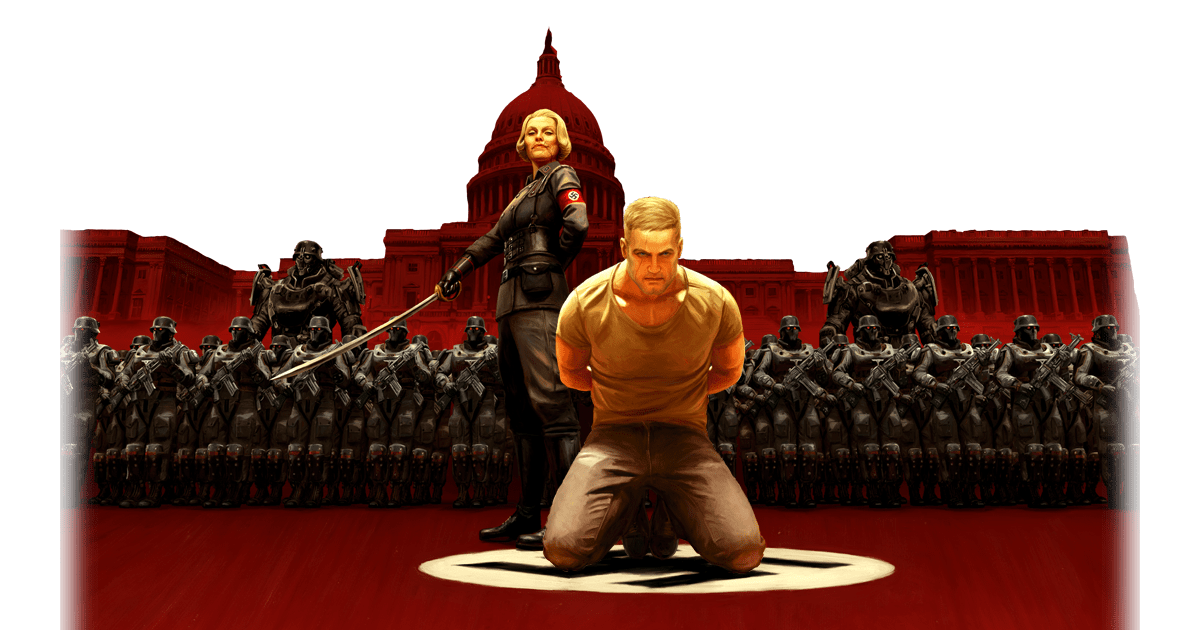 The Catharsis Wolfenstein II Buckets Of Blood Gaming