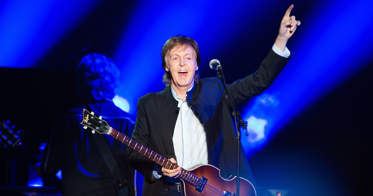 Paul McCartney Talks VIP Soundcheck Shows Its A Tribal