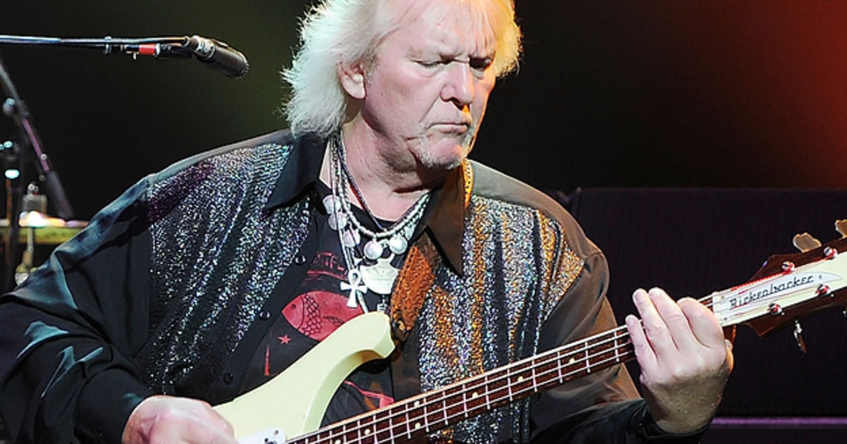 Yes Chris Squire On Their Classic Album Tour Rock And