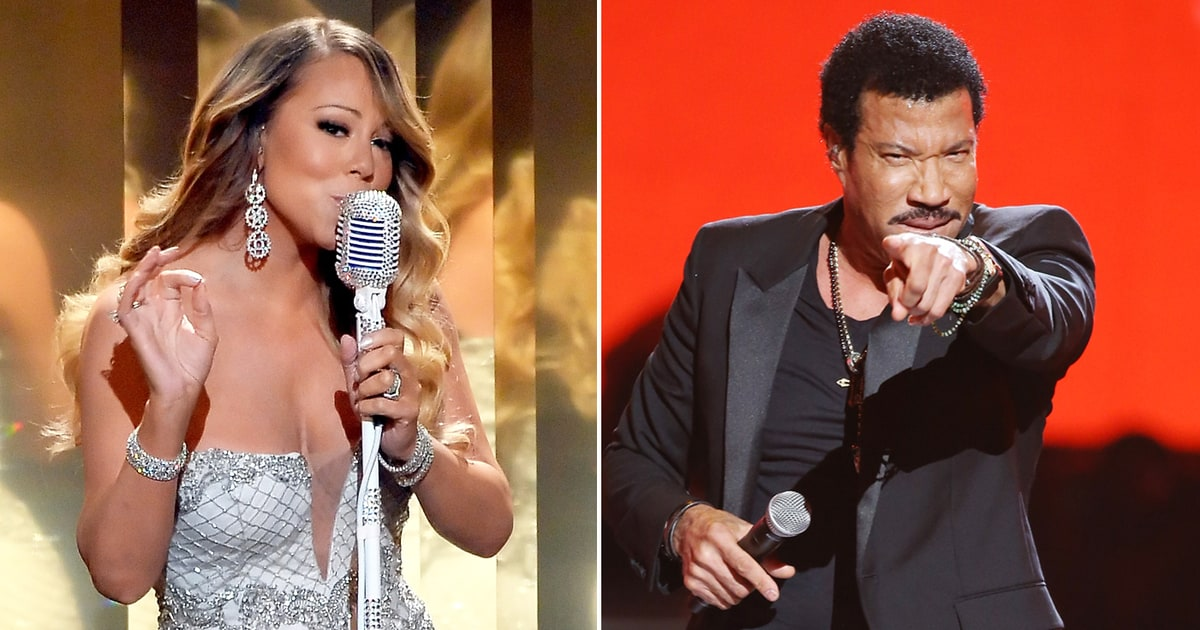Image result for mariah carey and lionel