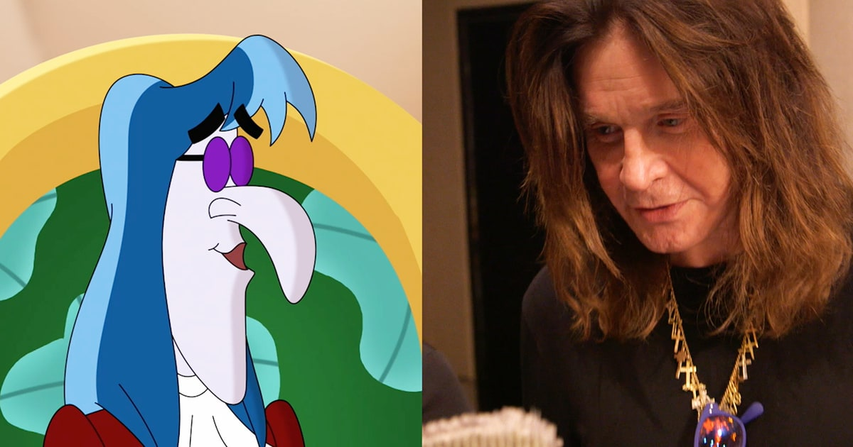 See Ozzy Osbourne Record Metal Voiceover For Disney