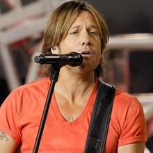 Image result for photos keith urban thanksgiving halftime 2010