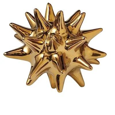 Urchin Shiny Gold Objet
