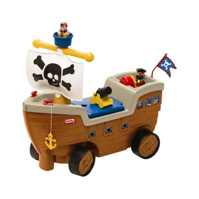 Play Scoot Pirate Ship Ride-On