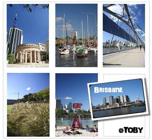 澳洲打工。Brisbane-布理斯本