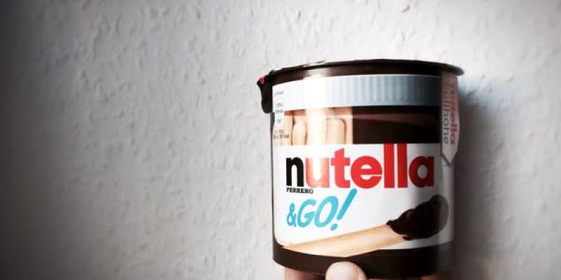  德國任務行 X Nutella  Part 2 我的熟女時代不可缺的-Nutella榛果可可醬。