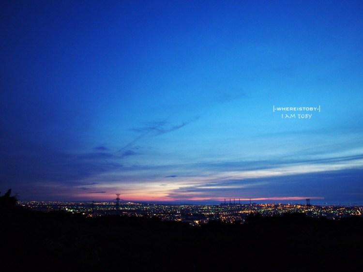 海線悠閒夜景。美麗的大肚山景觀咖啡-MITAKA 3e
