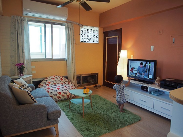 公寓DIY裝修3。淘阿淘每一件傢俱都是為了心中的那個家~