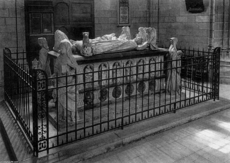 Tomba di Francesco II di Bretagna e sua moglie Margherita di Foix - Michel Colombe | Wikioo.org – L'Enciclopedia delle Belle Arti