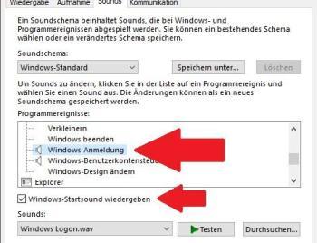 Windows 10 Startsound ändern