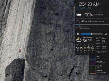 Win10 Widgets: Wetter auf dem Desktop anzeigen