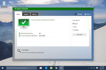 So aktivieren Sie den Windows Defender über die Eingabeaufforderung