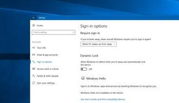 So aktivieren Sie unter Windows 10 Dynamic Lock