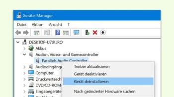 Treiber in Windows 10 updaten