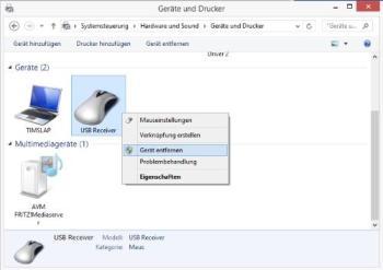 Bluetooth-Geräte entfernen