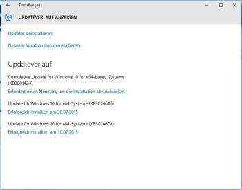 Windows Update: Fehler 0x800f081f