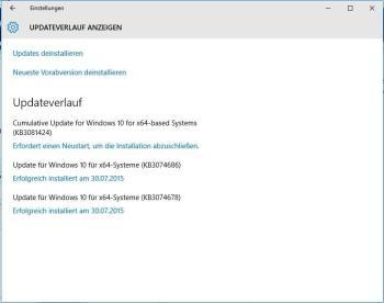 Windows Update: Fehler 0x800f081f