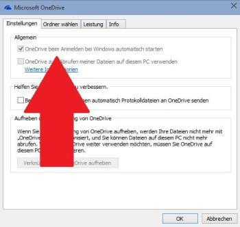 Beenden von OneDrive unter Windows 10