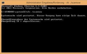 Windows 10: System reparieren