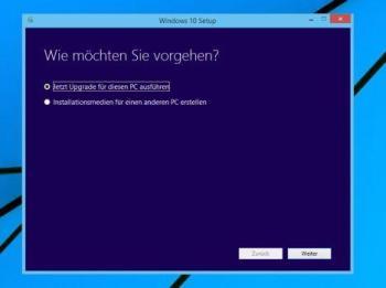 Windows 10 per ISO installieren