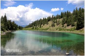 加拿大 健行。Valley of the Five Lakes五湖之谷步道.盡覽5顆綠寶石湖泊美景步道