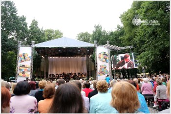 拉脫維亞 | 首都Riga里加建城慶典.Rigas Svetki開幕音樂會