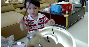 [2Y10M6D] 三歲生日禮物-我是小小鼓手
