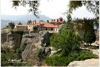 希臘自助遊記【77】Meteora.Agios Stefanos阿基歐斯.史蒂芬諾斯修道院