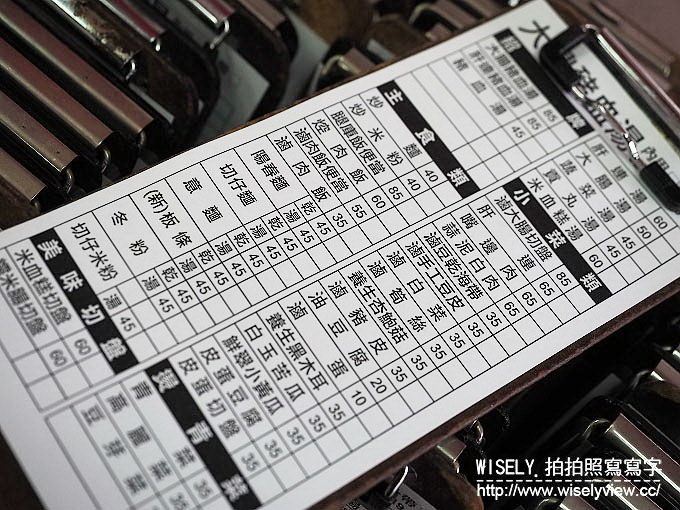 【食記】台北中山。捷運南京復興站:大鼎豬血湯(龍江店)@老字號連鎖品牌黑白切小吃