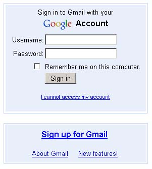 Gmail Signup Enabled