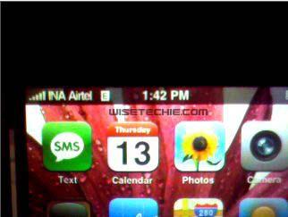 Airtel EDGE on Iphone