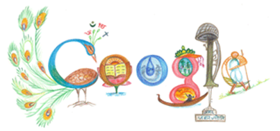 Google Doodle India