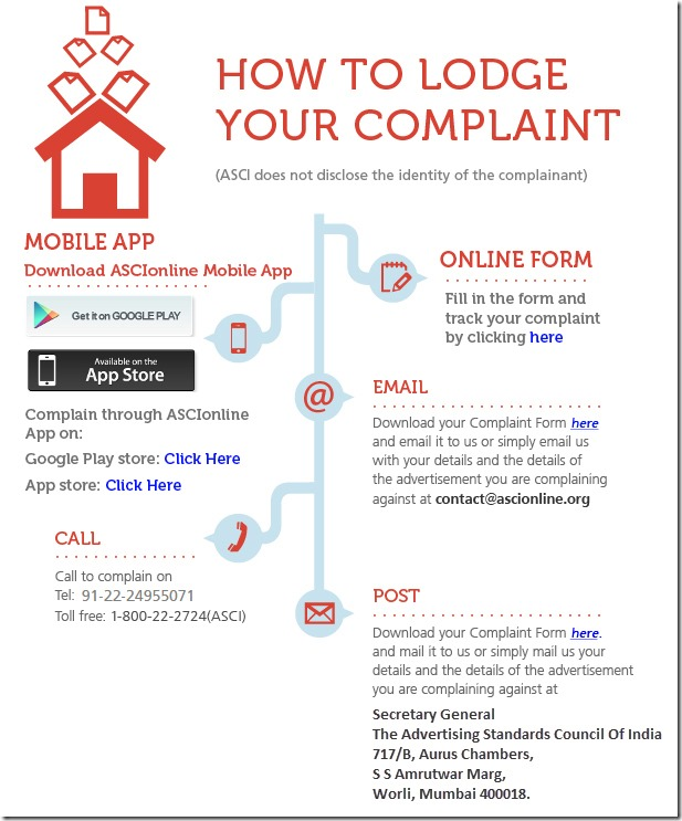 How to lodge a complaint