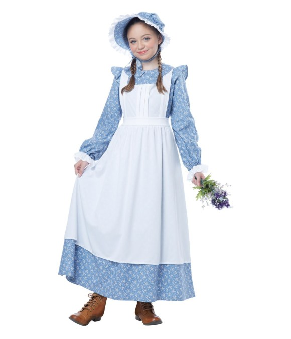 Charming Pioneer Girl Dress Costume - Historic Costumes
