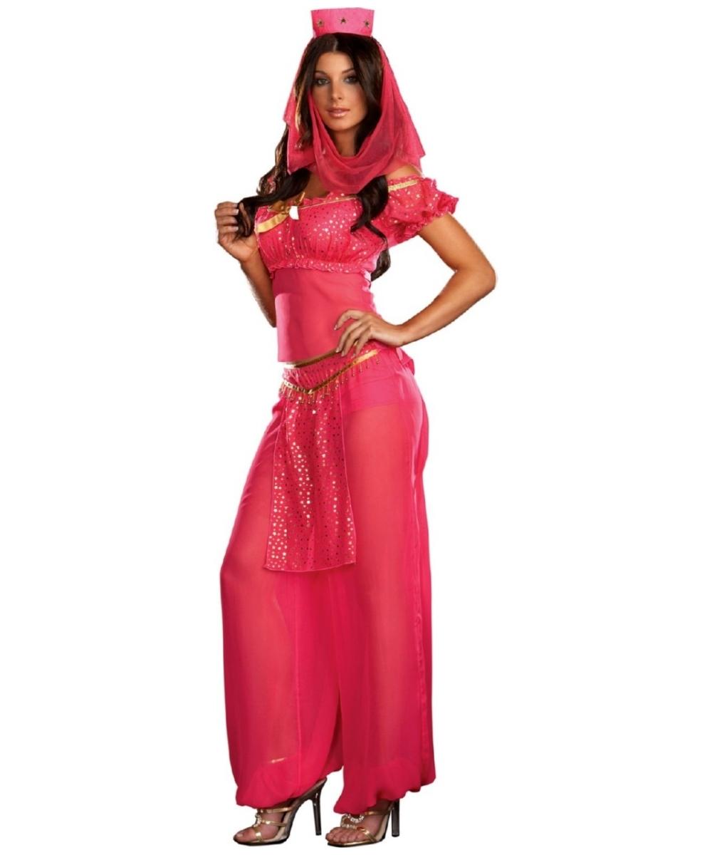 Genie May K Wish Adult Costume Women Genie Costumes