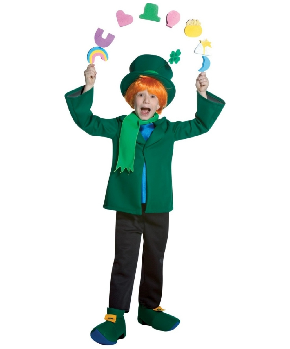 Kids Lucky Charms Leprechaun Irish Costume Leprechaun