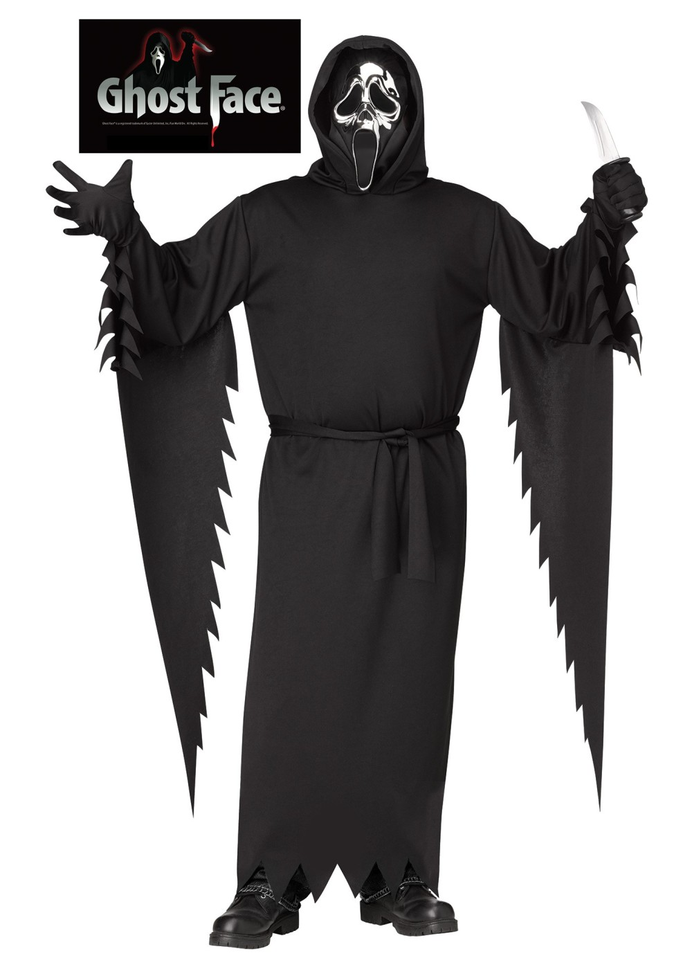 Ghost Face Men Costume