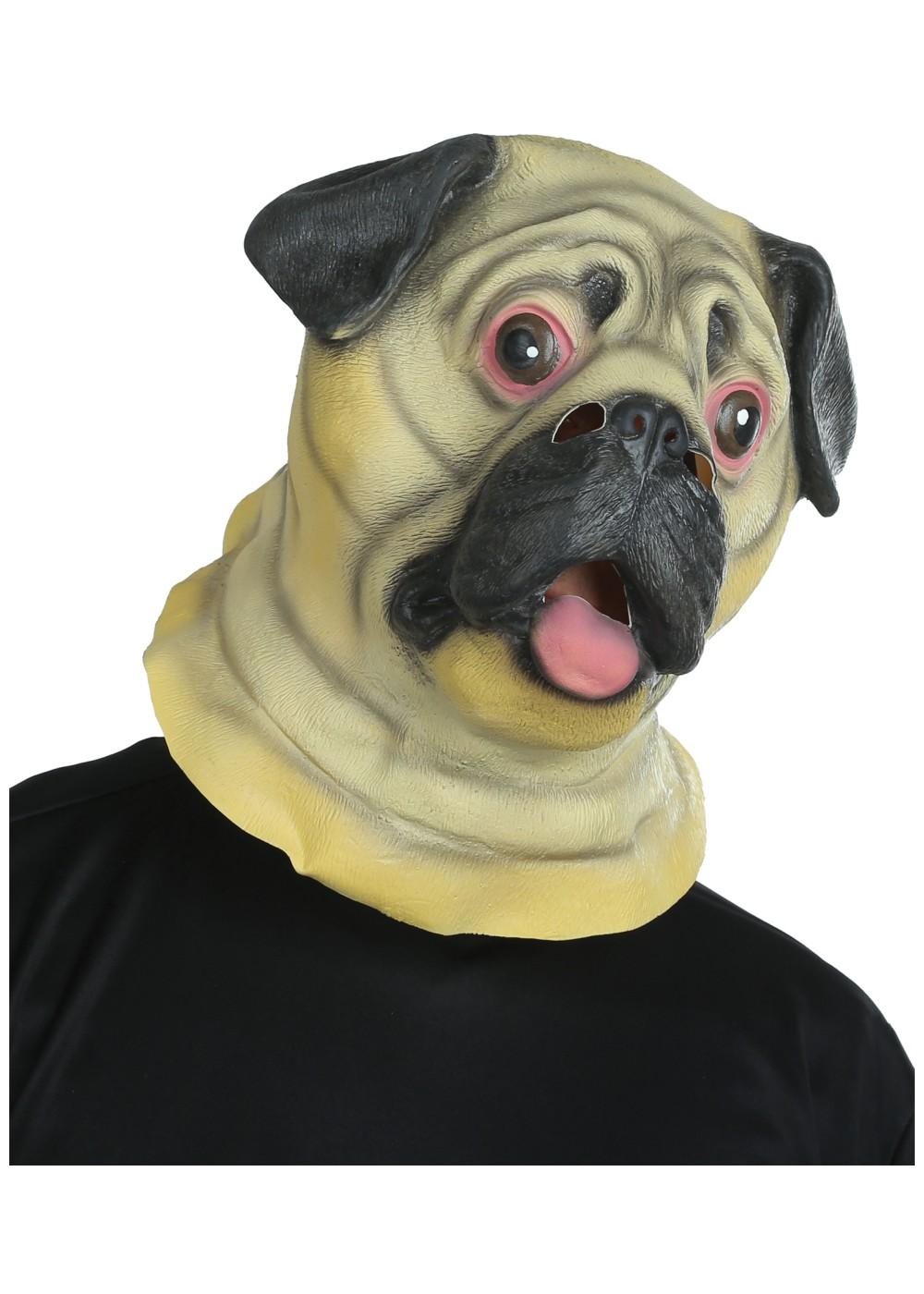 Pug Dog Mask Animal Masks