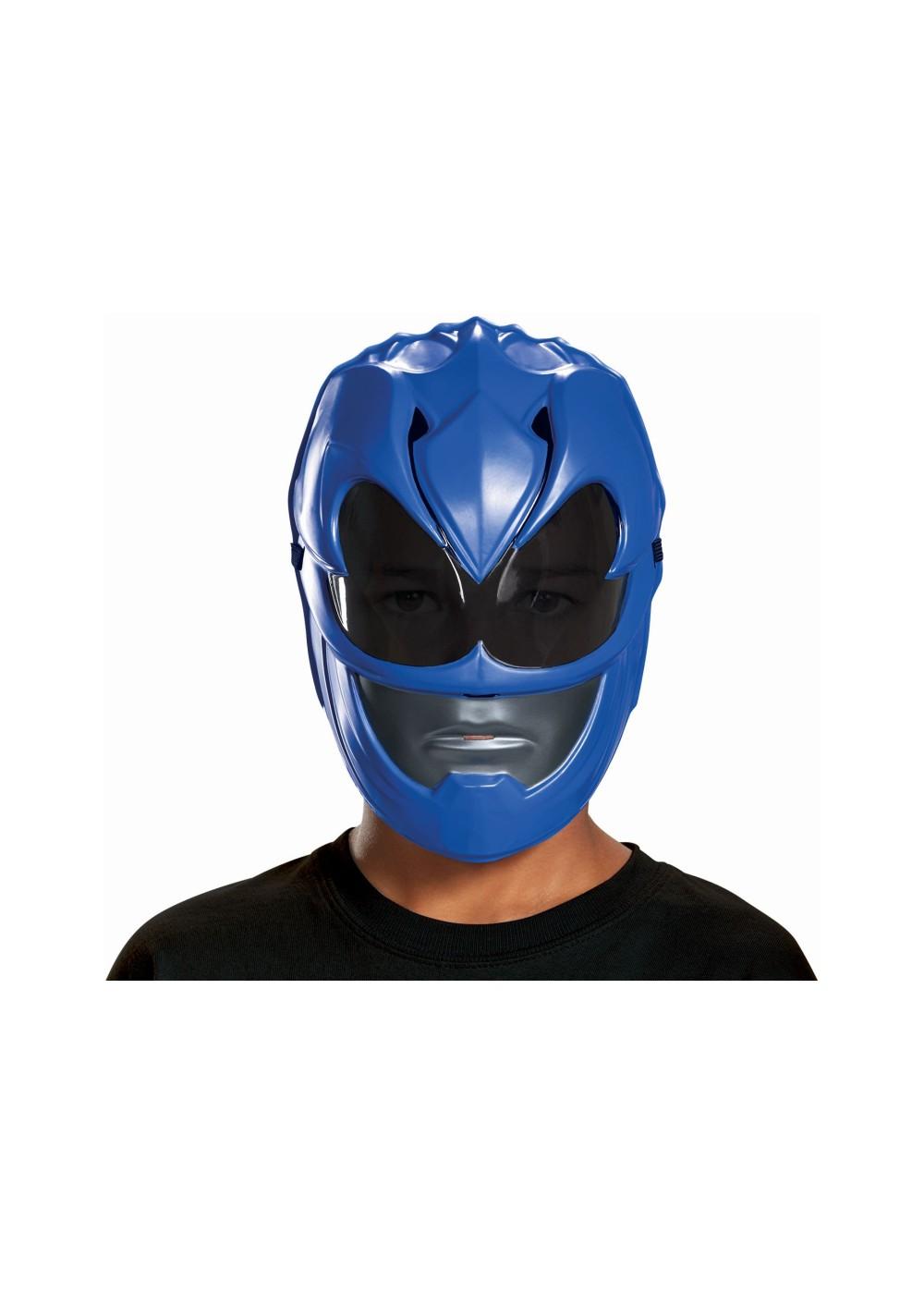 Blue Power Ranger Boys Movie Mask Superhero Costumes