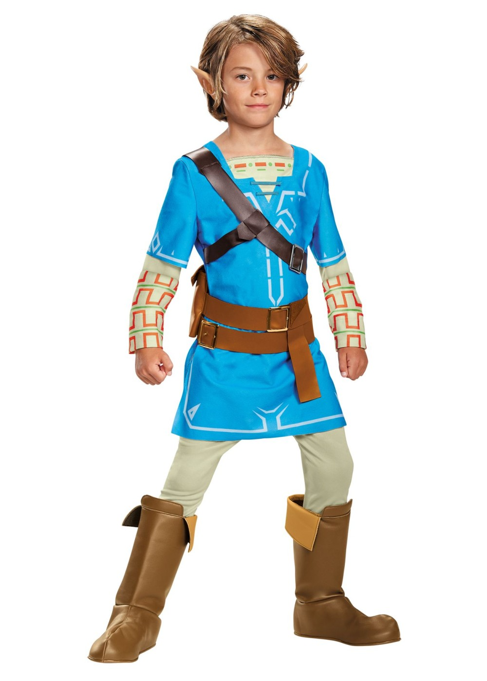 Link Breath Of The Wild Boys Costume Video Game Costumes