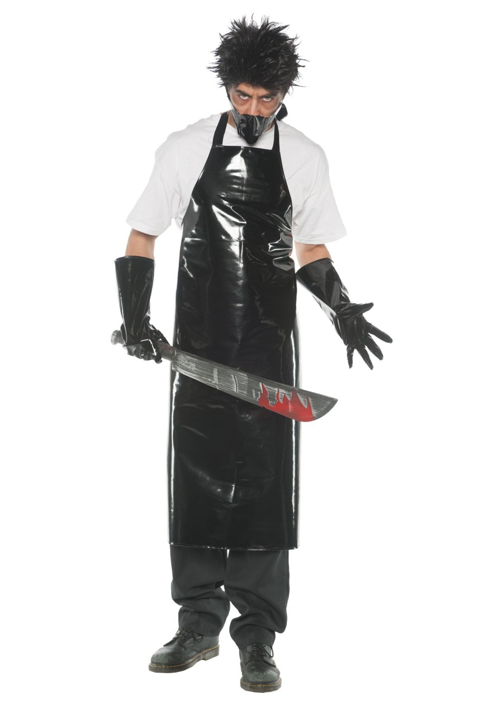 Mens Butcher Costume Scary Costumes
