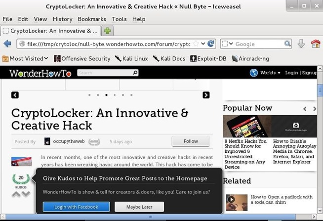 Cloning website with HTTRACK on kali linux   Jakarta-BLackhat16