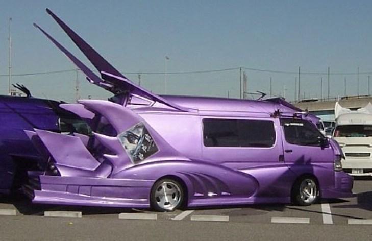Image result for pimp minivan