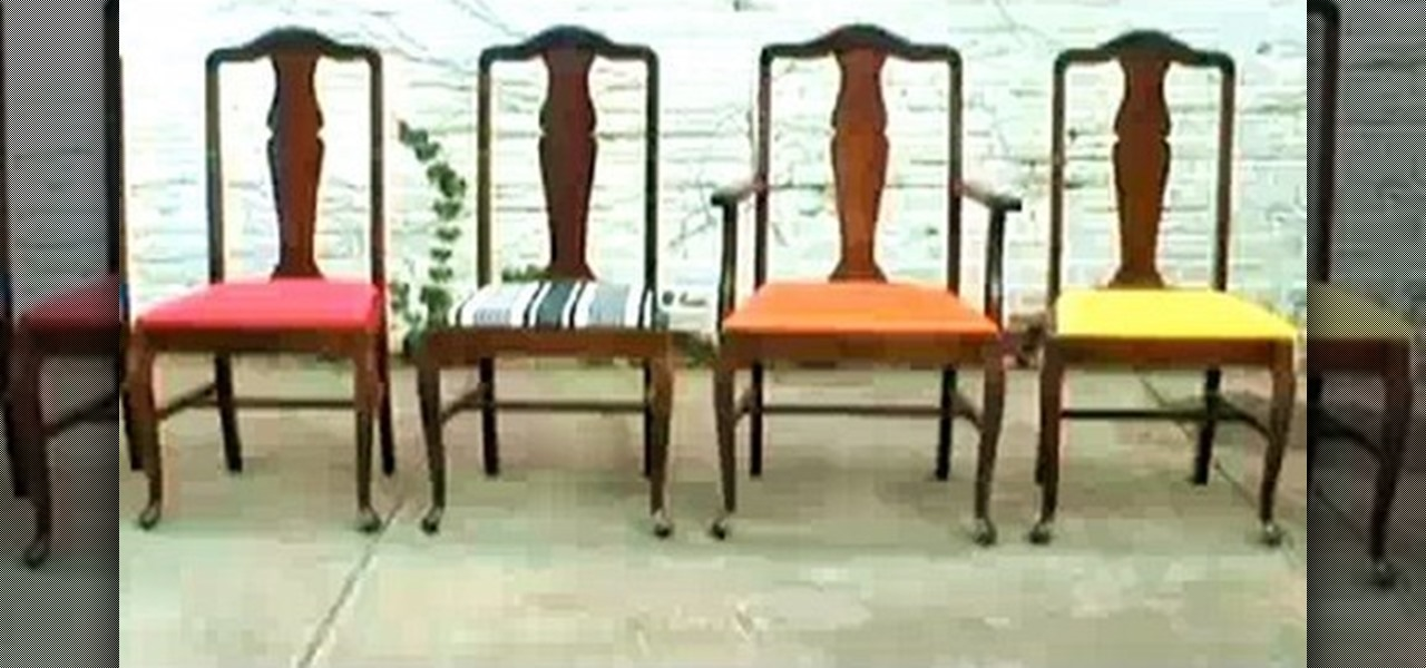 How To Re Upholster Vintage Dining Room Chairs