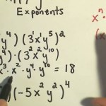 How To Apply Exponent Rules In Basic Algebra Math Wonderhowto