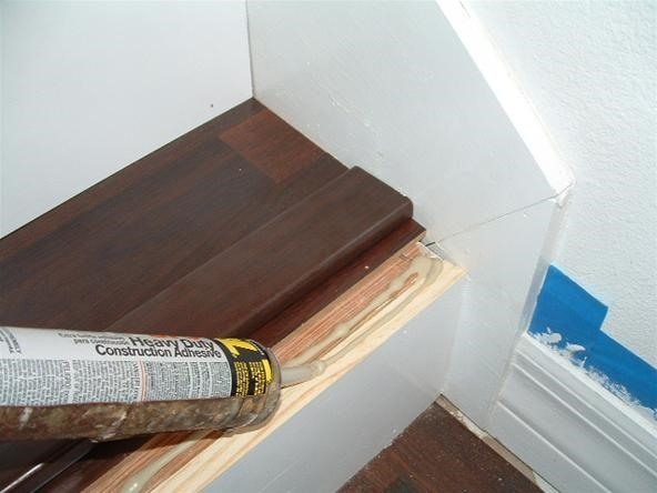 Do You Want To Install Laminate Flooring On Your Stairs « Diy | Installing Hardwood On Stairs | Wooden | Painted Wood | Handrail | Nosing | Vinyl